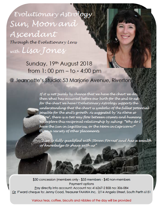 Evolutionary Astrology - Sun, Moon and Ascendant with Lisa Jones